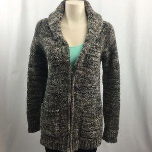 Wilfred Sweaters - Wilfred Free Erable Wool/Alpaca Zip-up Sweater XXS